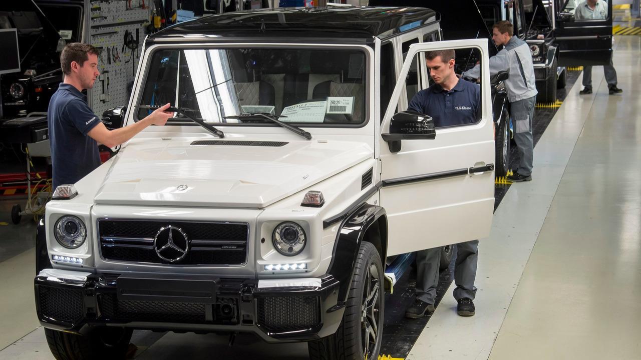 Mercedes G Class production