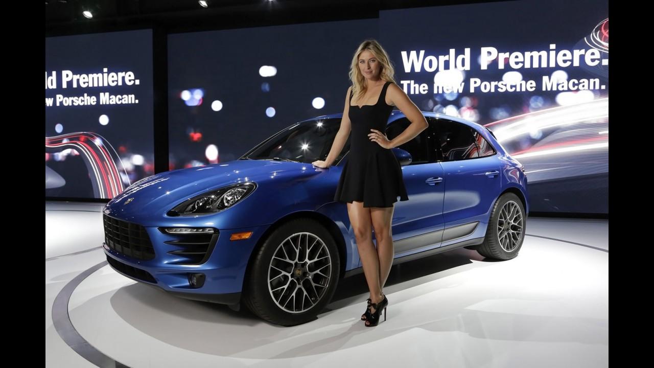 Porsche suspende patrocínio a Maria Sharapova após caso de doping