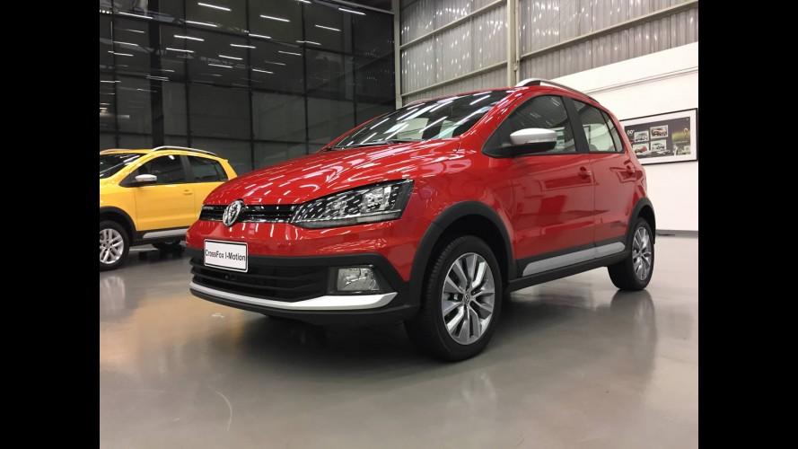 VW CrossFox tipo exportação ganha edição especial