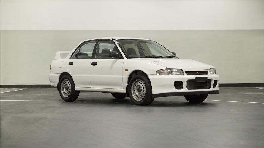 Cette rare Mitsubishi Lancer Evo II RS est à vendre