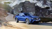 Mercedes GLC Coupé azul