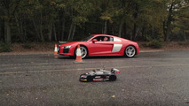 Audi R8 and RC Race
