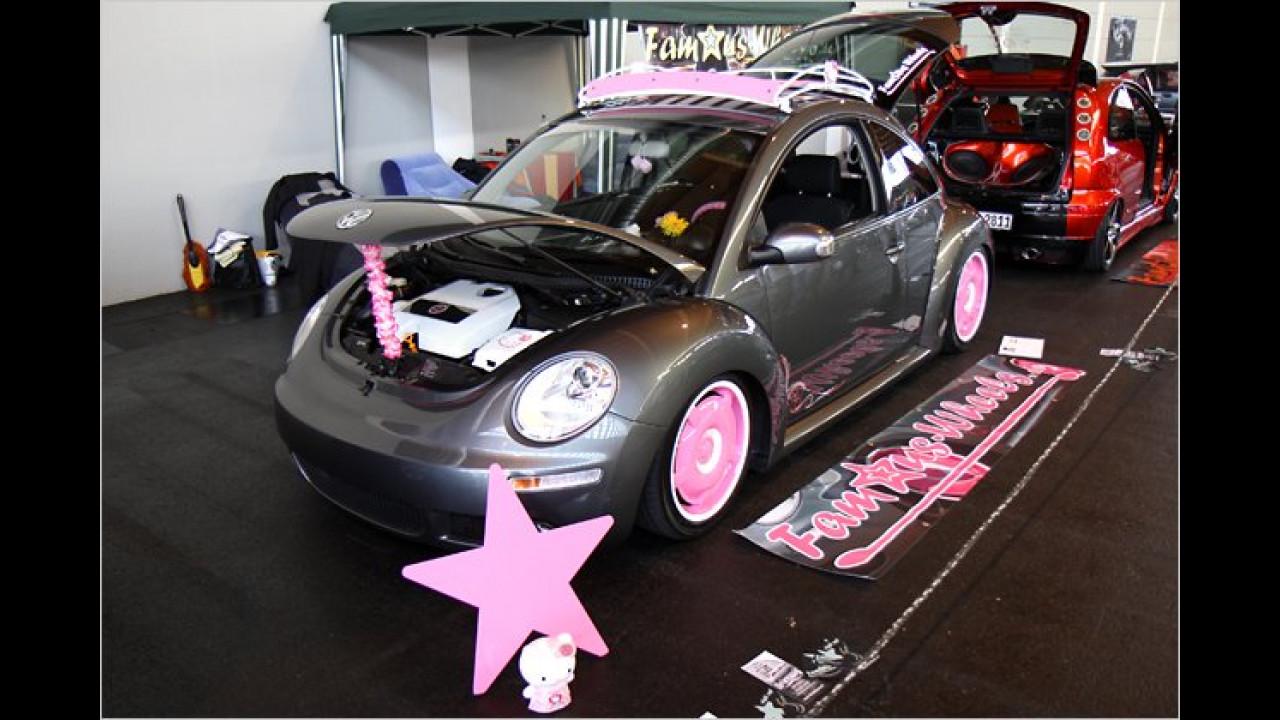 VW New Beetle Hello Kitty