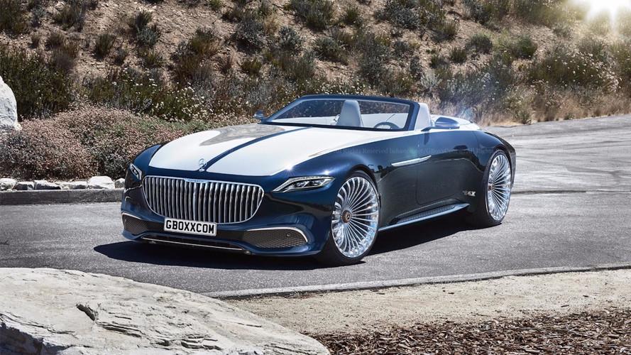 Mercedes-Maybach 6 Cabriolet tasarım yorumu harika görünüyor
