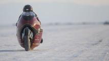 Indian Motorcycle Spirit of Munro Scout, Bonneville