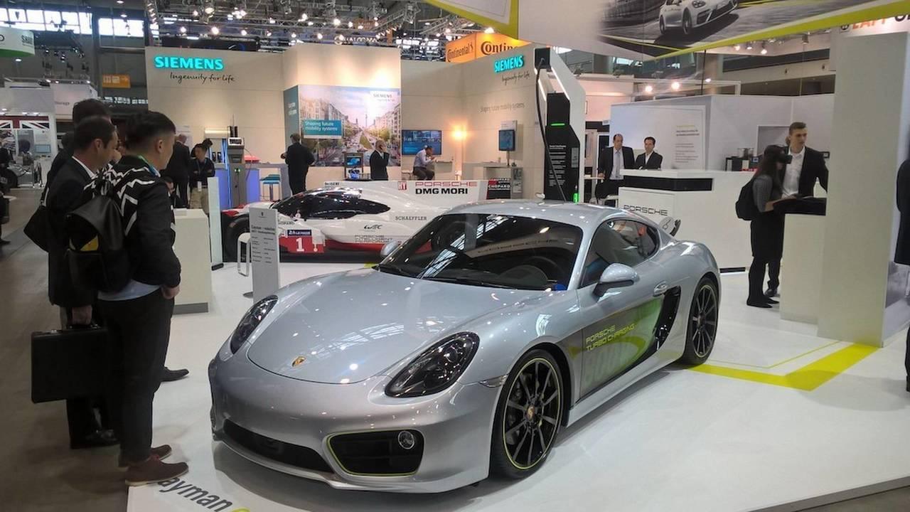 Porsche Cayman e-volution konsepti