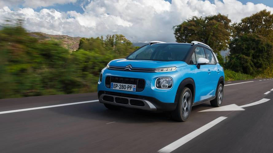 2017 citroen c3 aircross review french fancy. Black Bedroom Furniture Sets. Home Design Ideas