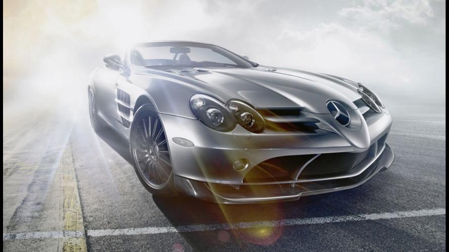 All'asta l'ultima Mercedes SLR Roadster