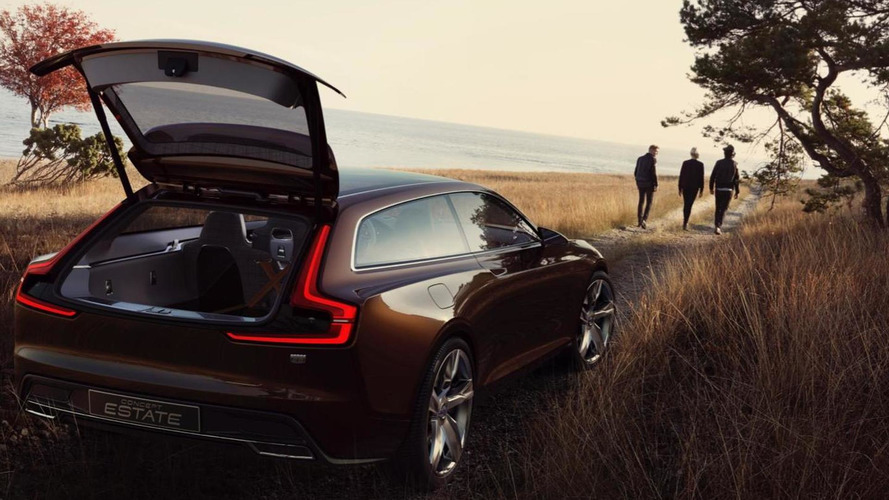 Volvo Concept Estate leaks out early