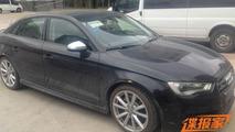 Audi S3 Sedan seen in China