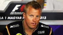 Kimi Raikkonen 25.07.2013 Hungarian Grand Prix