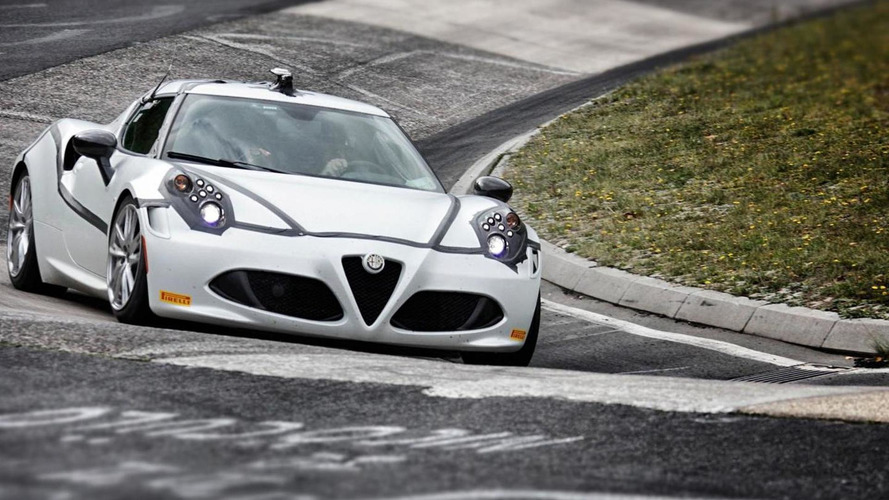 Alfa Romeo confirms 4C's 8:04 Nurburgring lap time