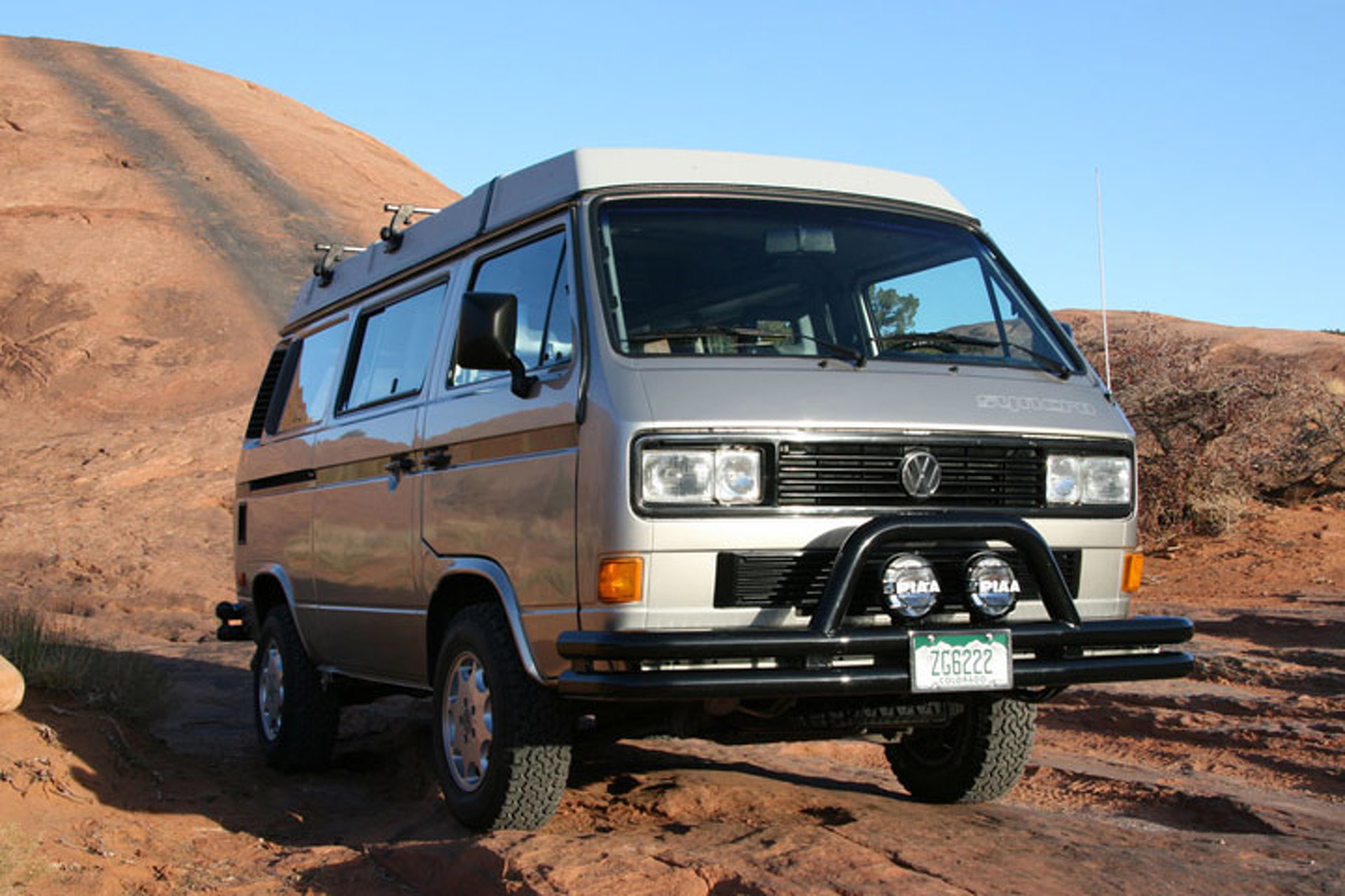 Volkswagen Syncro We Could Use More 4x4 Vans