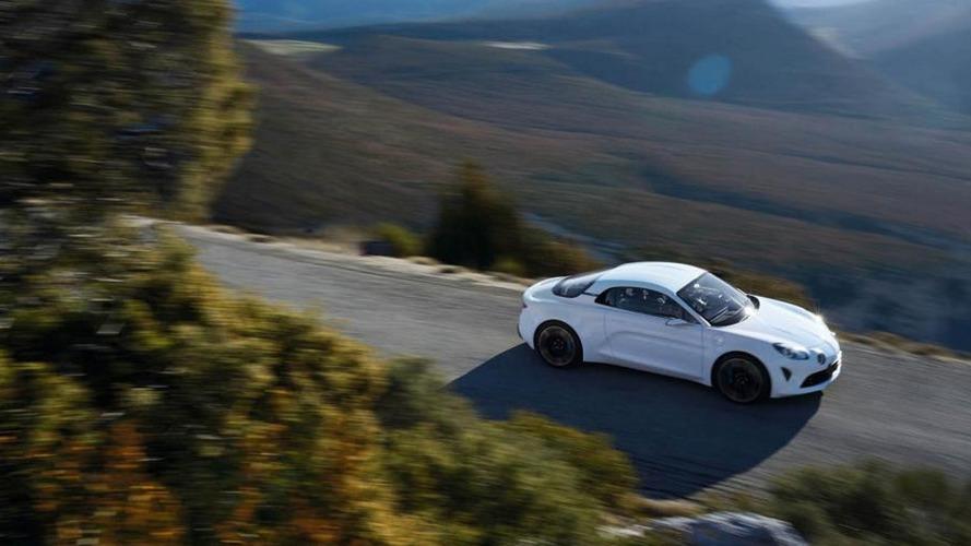Nouvelle Alpine - Pas de présentation au rallye Monte-Carlo
