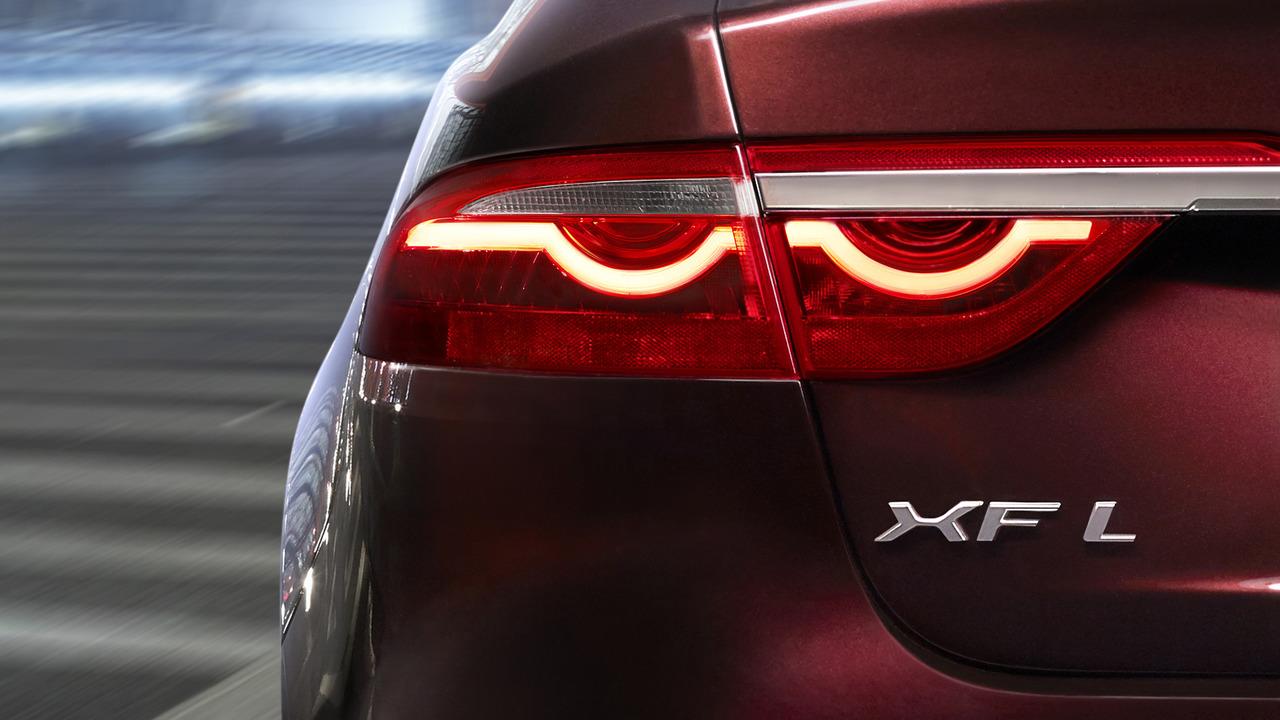 Jaguar XF L teaser