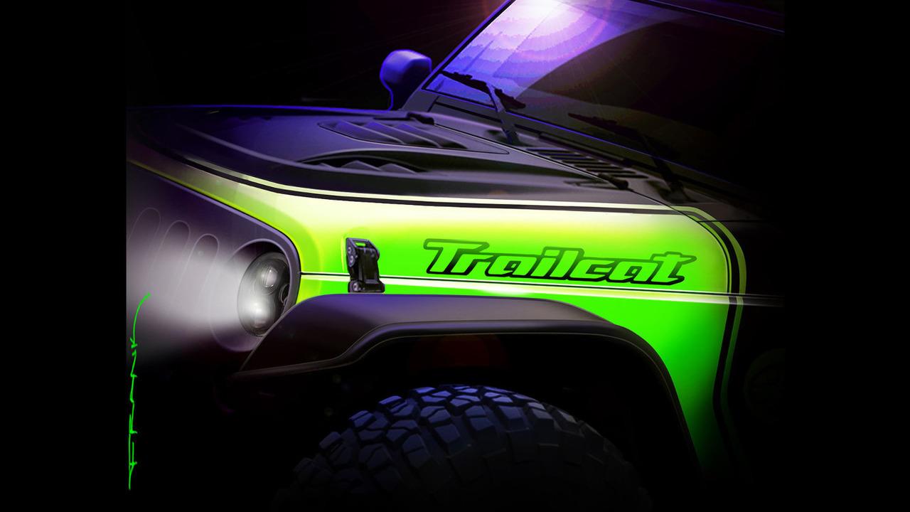 Jeep Wrangler Trailcat concept