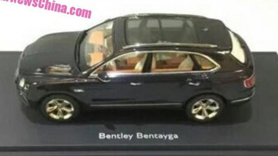 Bentley Bentayga allegedly leaks out in official diecast model
