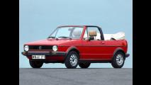 Volkswagen Golf Cabrio, la storia