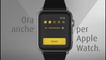 MyTaxi, la app per Apple Watch
