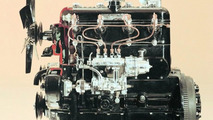 OM 138 engine of the Mercedes-Benz 260 D
