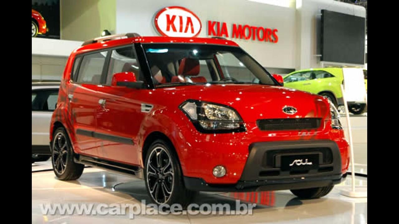 Kia registra crescimento de 205% no Brasil de janeiro a novembro de 2008
