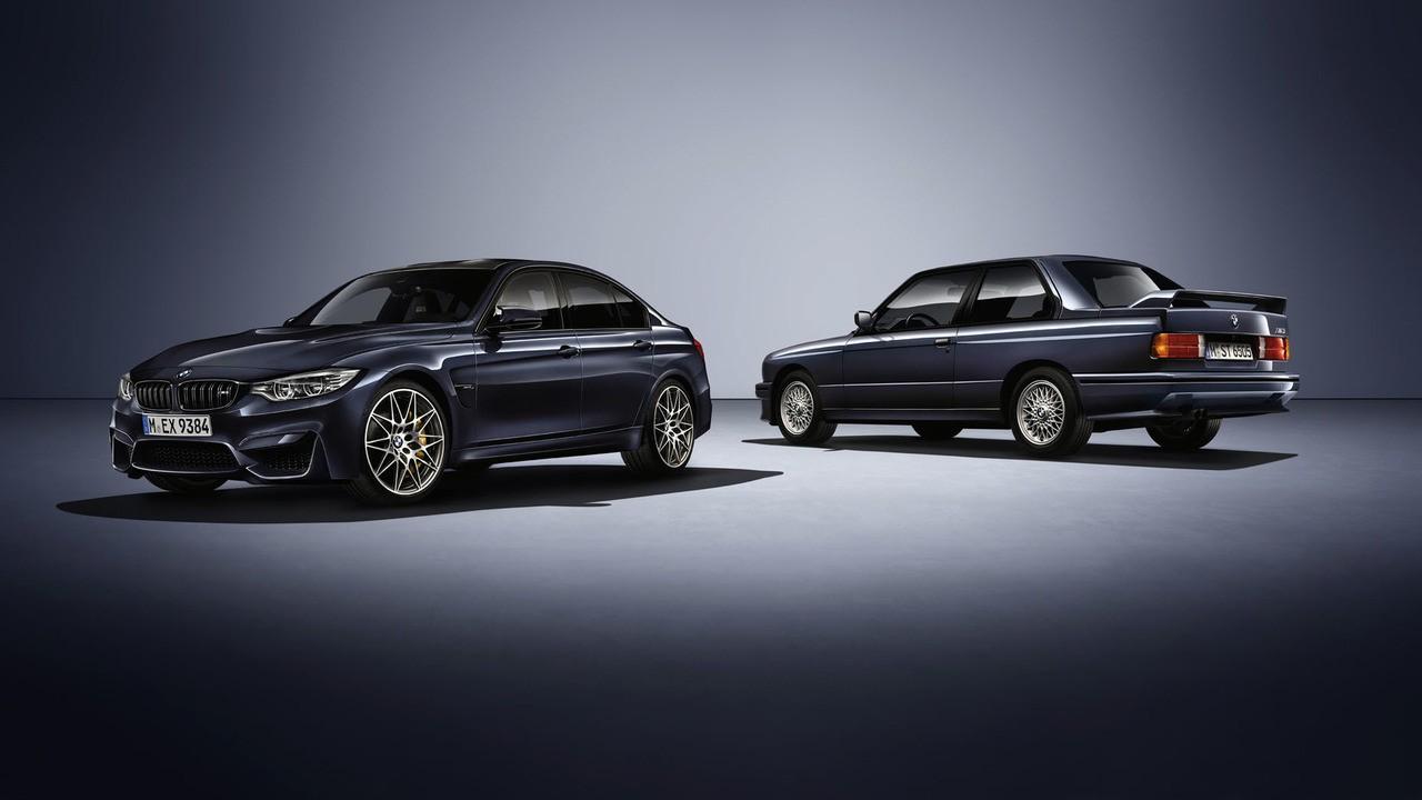 BMW M3'ün 30. yaşına özel hazırlanan model tanıtıldı