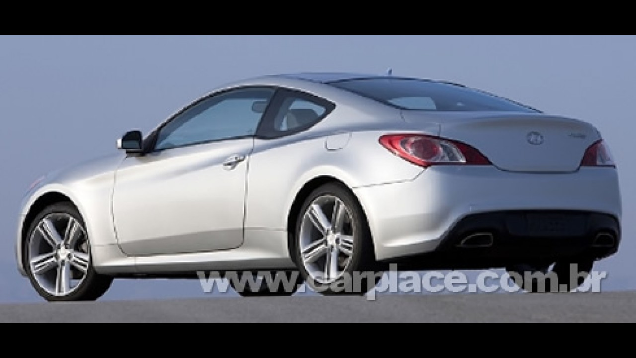 Hyundai apresentará o novo Genesis Coupé de 300 cv no Salão de Nova York