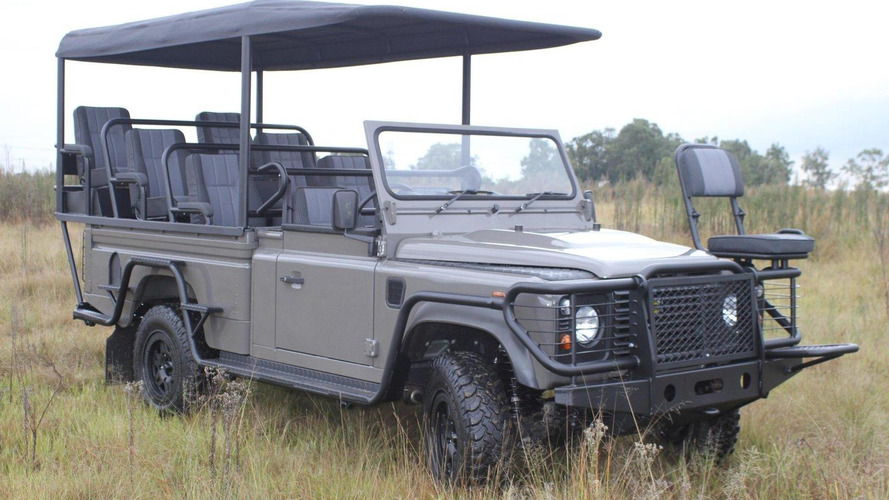 Land Rover Defender Safari EV concept revealed