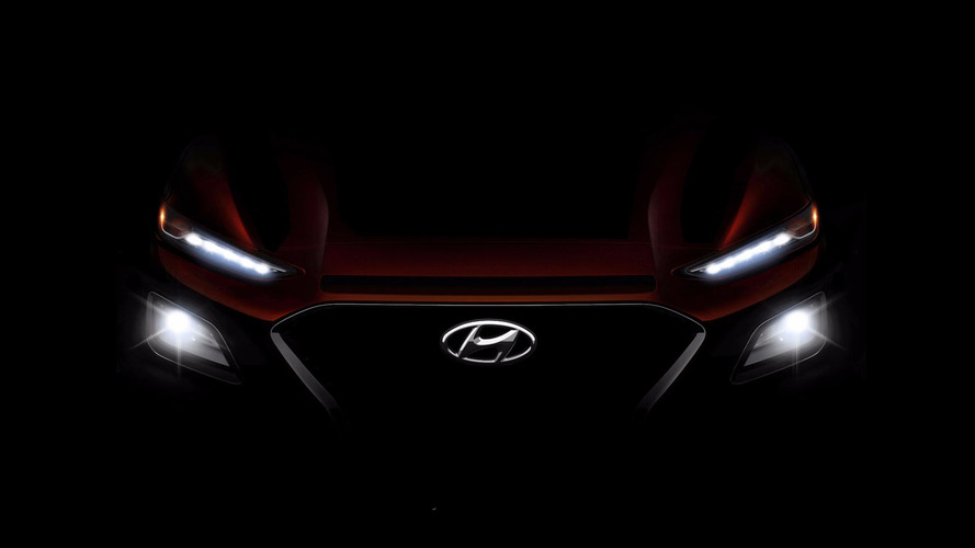 Hyundai Kona Spotted Undisguised Showing Quirky Design