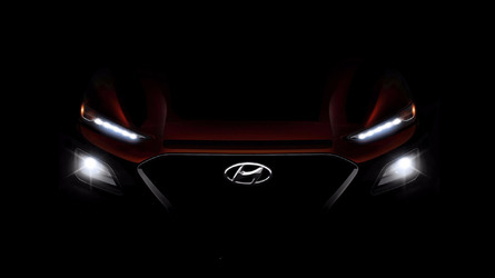 Hyundai Kona Teaser Shines Light On Upcoming Compact Crossover