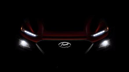 Hyundai Kona Teaser Shines Light On Upcoming Compact Crossover