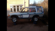 Land Rover Discovery rally car