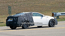 Cadillac CTS-V Coupe Spy Photos