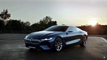 BMW 8 Serisi reklam videosu