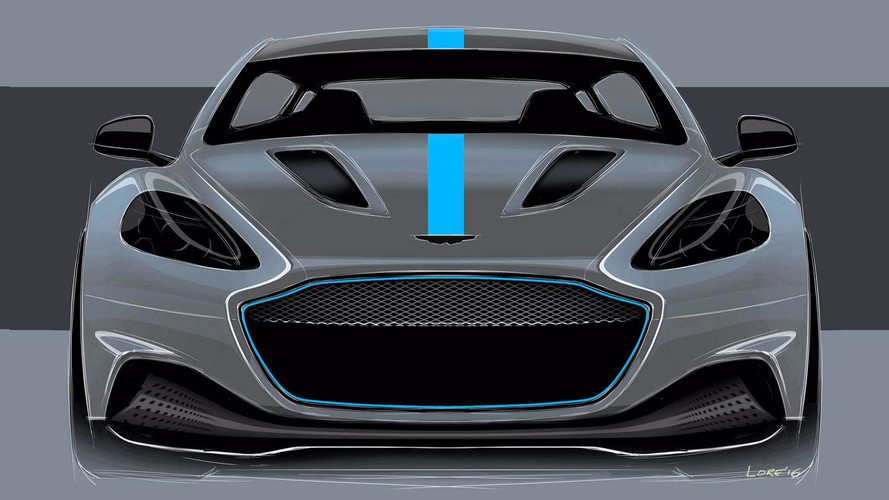 Electric Aston Martin RapidE Is A Zero-Emissions Reality