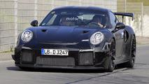 2018 Porsche 911 GT2 Nürburgring'den yeni casus fotoğraflar
