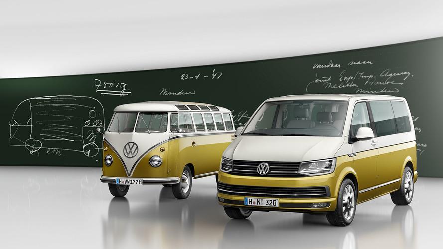 Volkswagen Multivan 2018 Bulli 70 Aniversario, mirando al pasado