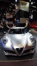 Alfa Romeo 4C Concept live in Frankfurt 13.09.2011