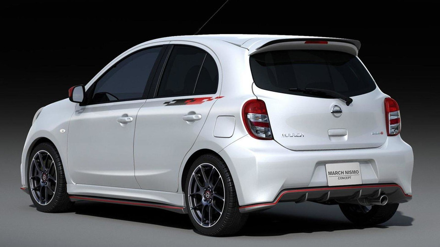 Nissan Micra Nismo concept unveiled