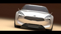 Kia GT concept leaked photos - 9.9.2011