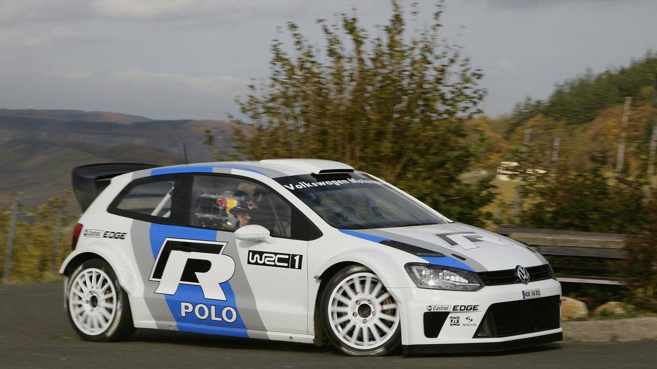 VW Polo R WRC begins testing 04.11.2011