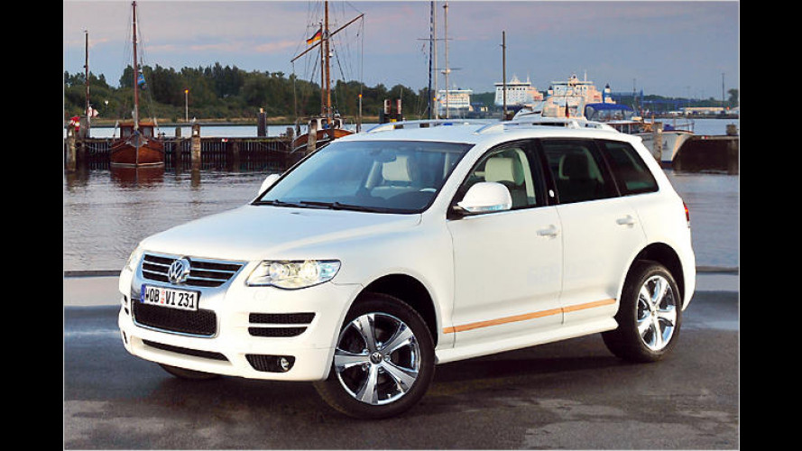 Unter vollen Segeln: VW zeigt den Touareg ,North Sails
