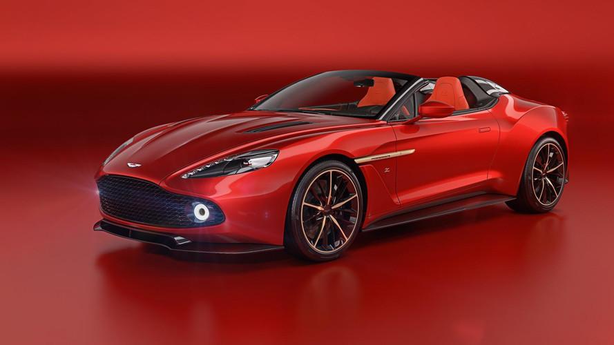 Sueña con los Aston Martin Vanquish Zagato Speedster y Shooting Brake