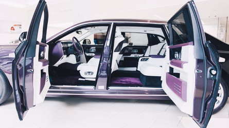 London Car Dealer Gets First New Phantom For World Debut