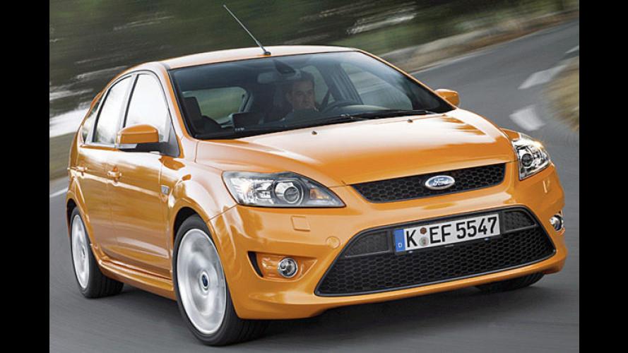 Facegelifteter Ford Focus ST: Optische Offensive in Orange