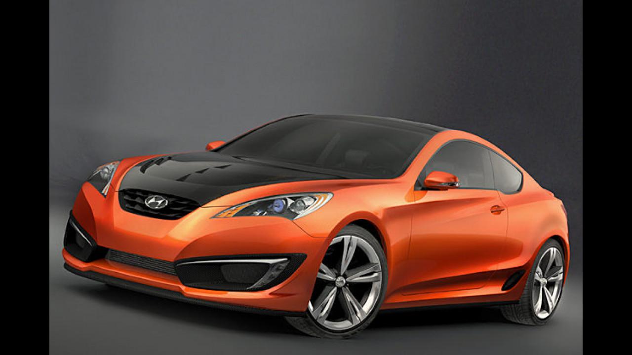 Coupé-Studie von Hyundai