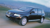 VW Touareg throughout the years