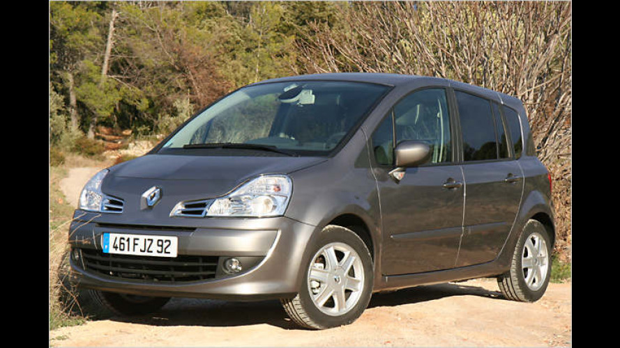 Renault Grand Modus: Neuer Stretch-Van im Miniaturformat
