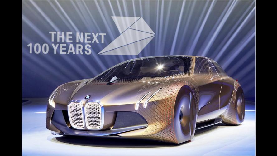 BMW Vision Next 100: Aufregender Ausblick