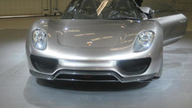 Porsche 918 Spyder Concept is shown to an invitation only audience at Pebble Beach